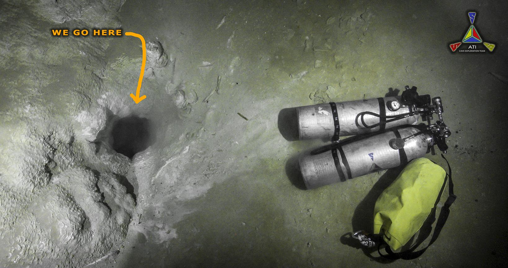 The Hole - Ixtlan Cave